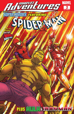 Marvel Adventures Super Heroes Vol 1 2