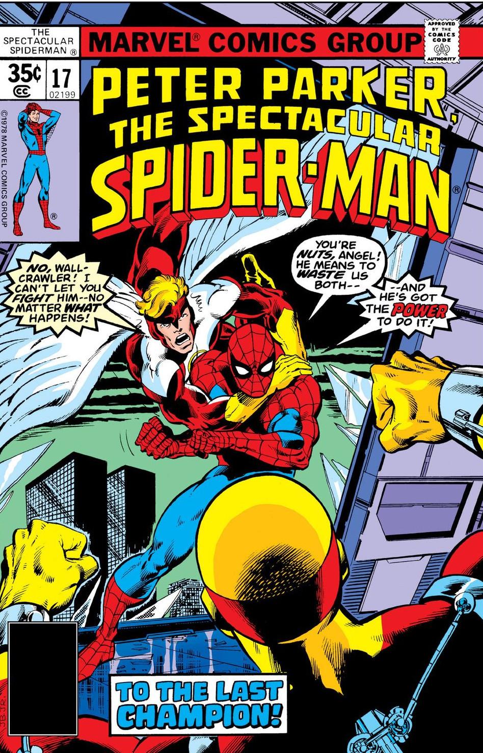 Peter Parker, The Spectacular Spider-Man Vol 1 17