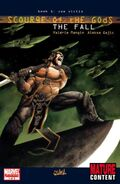 Scourge of the Gods The Fall Vol 1 1