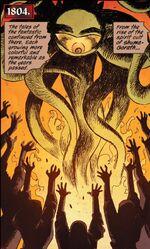 Shuma-Gorath (Multiverse) from Ruins of Ravencroft Sabretooth Vol 1 1 001
