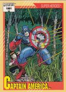 Steven Rogers (Earth-616) from Marvel Universe Cards Series II 0001