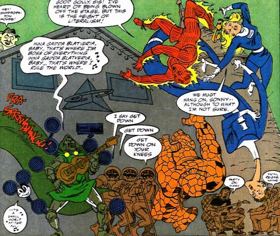 File:The Astrodoom, Vicar Von Doof, Fantastical Four, Invincible Robots(Earth-9047) from What The-- Vol 1 17.jpg