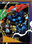 Beta Ray Bill (Earth-616) from Marvel Universe Cards Series IV 0001