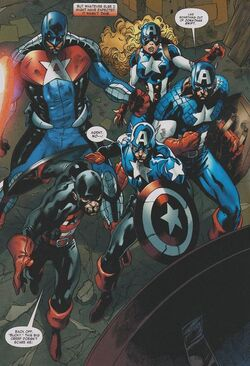 Captain America Corps (Earth-616) from Captain America Corps Vol 1 2 001