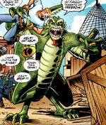 Curt Connors (King Lizard) (Earth-9602) from Spider-Boy Vol 1 1 002