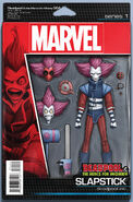 Deadpool & the Mercs for Money Vol 1 4 Action Figure Variant
