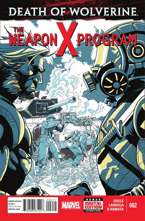 Death of Wolverine The Weapon X Program Vol 1 2