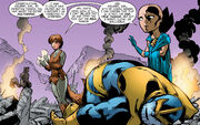 Doreen Green (Earth-616) and Thanos (Earth-616) from GLX-Mas Special Vol 1 1
