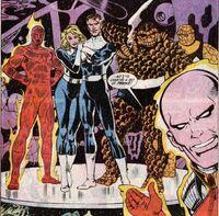 Fantastic Four (Clones) (Earth-616) from Fantastic Four Vol 1 328