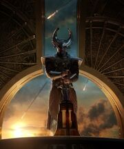 Heimdall (Earth-199999) from Thor The Dark World Poster 0001