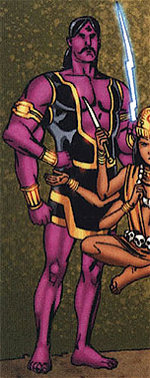 Indra (Deity) (Earth-616) from Thor & Hercules Encyclopaedia Mythologica Vol 1 1 0001
