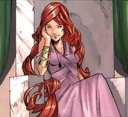 Medusalith Amaquelin (Earth-616) in her youth from Women of Marvel Vol 1 1