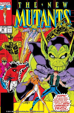 New Mutants Vol 1 92