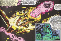 Paibok's Cruiser from Fantastic Four Vol 1 366