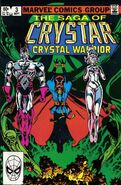 Saga of Crystar, Crystal Warrior Vol 1 3