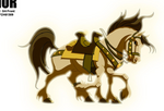 Sleipnir (Earth-8096) from Thor Tales of Asgard 001