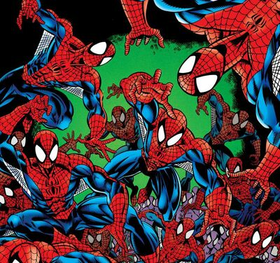 Spider-Clones (Earth-616) from Amazing Spider-Man Vol 1 404 001