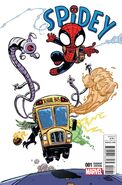 Spidey Vol 1 1 Young Variant