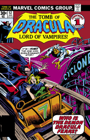 Tomb of Dracula Vol 1 52