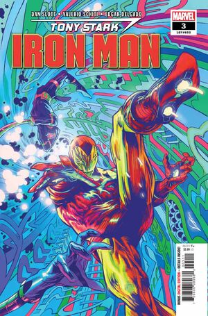 Tony Stark Iron Man Vol 1 3