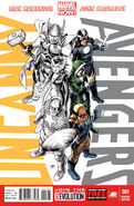 Uncanny Avengers Team Uncanny Vol 1 1 Variant