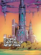 Utopia (X-Men Base) from X-Men Blue Vol 1 7 001