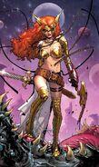 Aldrif Odinsdottir (Earth-616) from Guardians of the Galaxy Vol 3 6 cover