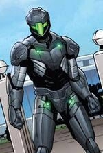 Alexandra Draguno (Earth-616) from Iron Man Vol 5 2 page --