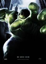 Bruce Banner (Earth-400083) from Hulk (film) Poster 0001