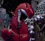Devil Dinosaur (Earth-TRN157) from Astonishing Spider-Man & Wolverine Vol 1 1 001