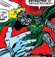 Gorm, Psionic-Refractor, Victor von Doom (Earth-616) from Fantastic Four Vol 1 116