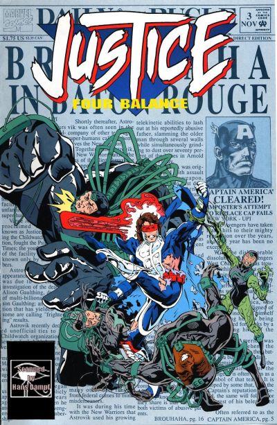 Justice Four Balance Vol 1 3