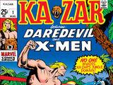Ka-Zar Vol 1 1