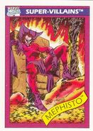 Mephisto (Earth-616) from Marvel Universe Cards Series I 0001