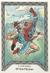 Namor McKenzie and Peter Parker (Earth-616) Spider-Man Team-Up (Trading Cards) 0001