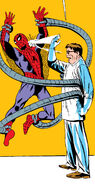 Peter Parker (Earth-616) vs. Otto Octavius (Earth-616) from Amazing Spider-Man Vol 1 3 001