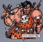 Prehistoric Punisher (Earth-27135) from Marvel Year-In-Review Vol 1 5