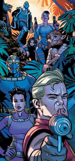 Ravagers (Earth-616) from Asgardians of the Galaxy Vol 1 6 001