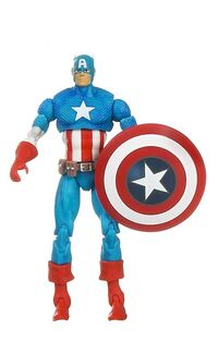 Stephen Rogers (Earth-616) from Marvel Universe (Toys) Comic Packs Series 1 (Secret Wars 25th Anniversary) 0001