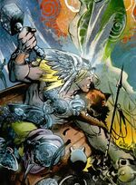 Thor Odinson (Earth-10246) from Marvel Universe Millennial Visions Vol 1 1 001