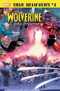 True Believers Wolverine - Fatal Attractions Vol 1 1