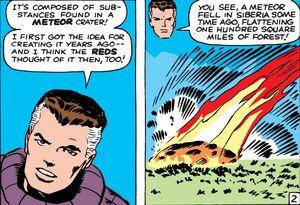 Tunguska from Fantastic Four Vol 1 13