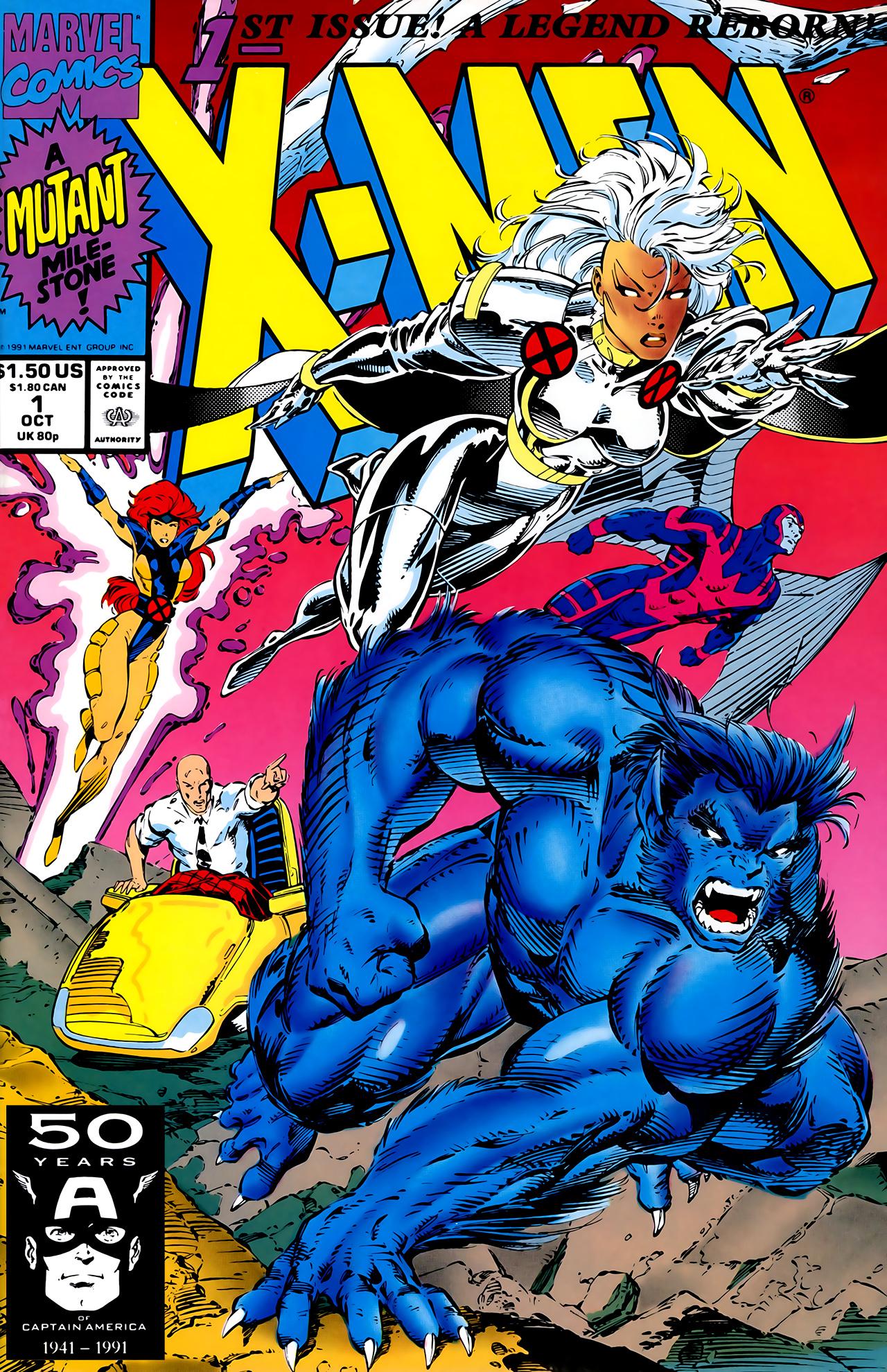 Image result for x-men vol 2 1