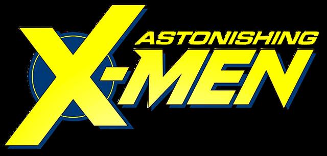 File:Astonishing X-Men (2017) logo.png
