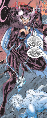 Cal'syee Neramani (Earth-32000) from X-Men Unlimited Vol 1 26 0001