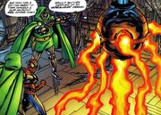 Disintegrator, Doombot, Peter Parker (Earth-98121) from Spider-Man Chapter One Vol 1 5