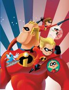 Disney Pixar Presents Incredibles - Family Matters Vol 1 1 Textless