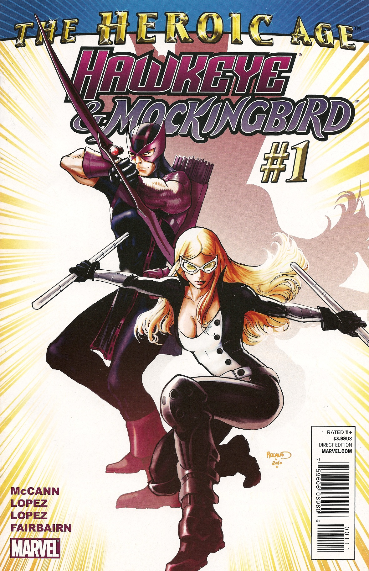 Hawkeye Mockingbird Vol 1
