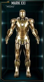Iron Man Armor MK XXI (Earth-199999)