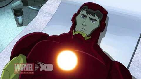 Iron Man Travels Through Time - Marvel's Avengers Assemble Season 2, Ep